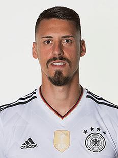 Sandro Wagner, atacante da Alemanha