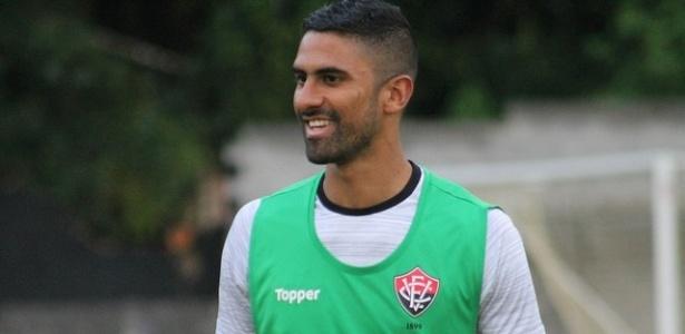 Tréllez é centroavante do Vitória e tem 10 gols em 23 jogos no Brasileirão