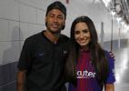 Neymar e Demi Lovato são vistos juntos em show de rapper americano
