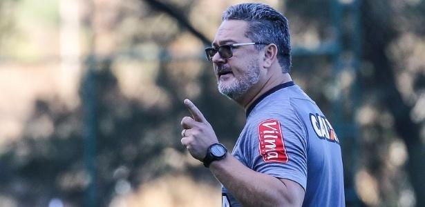 Reunião com os jogadores foi feita sem a presença da imprensa na Cidade do Galo