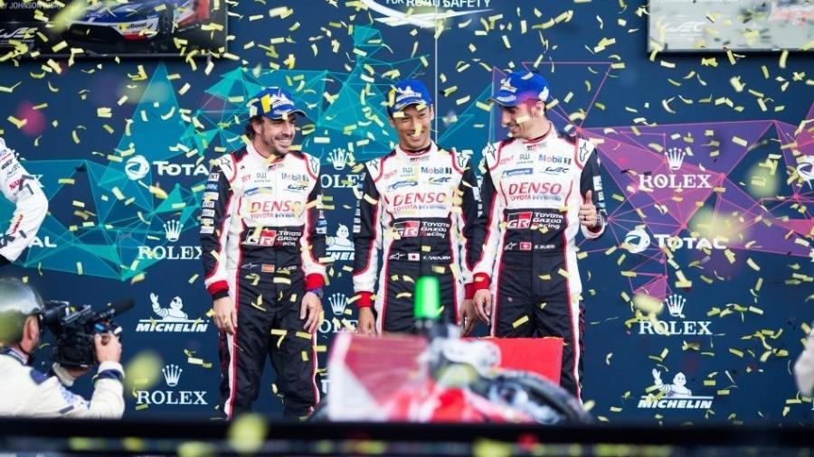Equipe de Alonso vence as 6 Horas de Spa-Francorchamps - Divulgação/FIA WEC