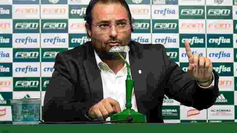 Alexandre Mattos, diretor do Palmeiras - Daniel Vorley/AGIF