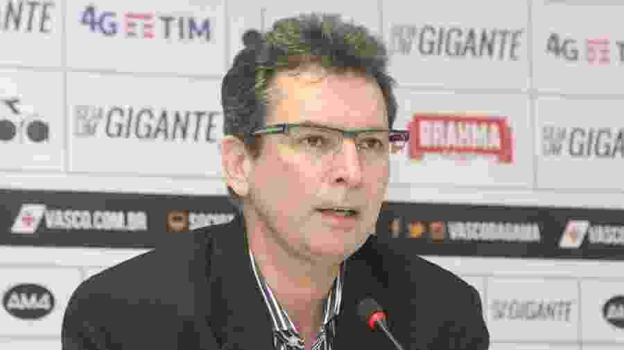 Diretor-executivo de futebol do Vasco, Alexandre Faria tem sofrido pressão no clube - Paulo Fernandes/Vasco.com.br