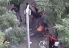 Briga antes de jogo da Champions termina com um preso em Barcelona - Reprodução/YouTube