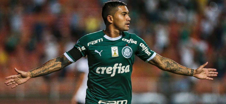 Dudu vive excelente fase no Palmeiras e briga por uma vaga na seleção brasileira de Tite - Ale Cabral/AGIF