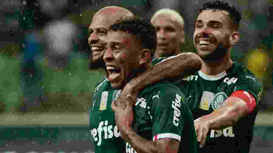 No primeiro turno, Palmeiras venceu o Fortaleza por 4 a 0 no Allianz Parque - Marcello Zambrana/AGIF