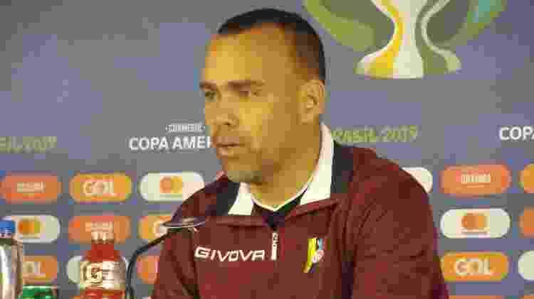 Dudamel pode chegar ao Atlético-MG; técnico faz trabalho de destaque na seleção da Venezuela - Gabriel Carneiro/UOL