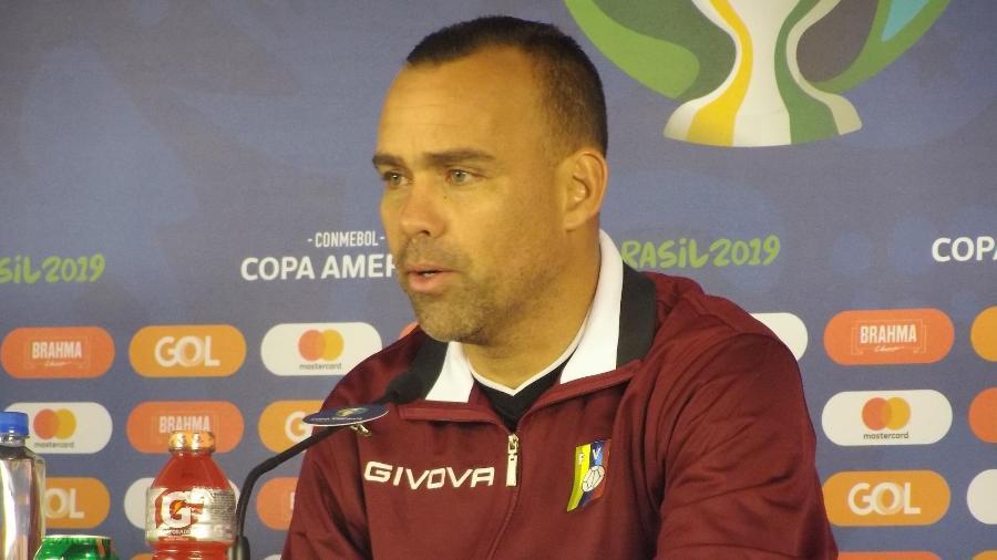 Rafael Dudamel, técnico da seleção da Venezuela - Gabriel Carneiro/UOL