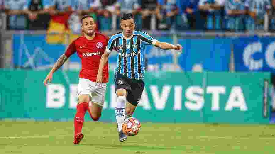 Gre-Nal expõe momentos opostos e vale disputa por vaga na Libertadores - Lucas Uebel/Grêmio FBPA