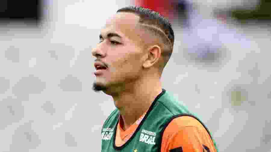 Rafael Papagaio, durante treino do Atlético-MG - Bruno Cantini/Divulgação/Atlético-MG