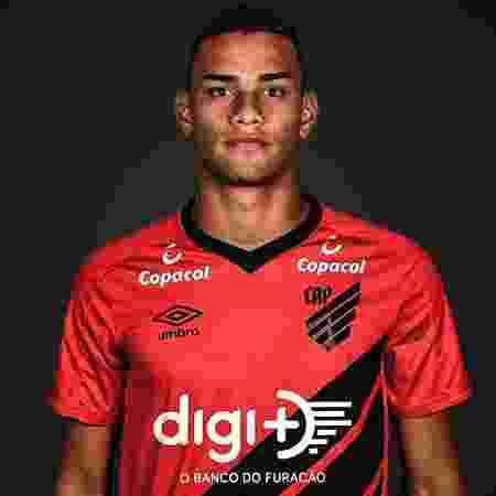 Thonny Anderson, meio-campista do Athletico-PR - Divulgação/Site oficial do Athletico-PR