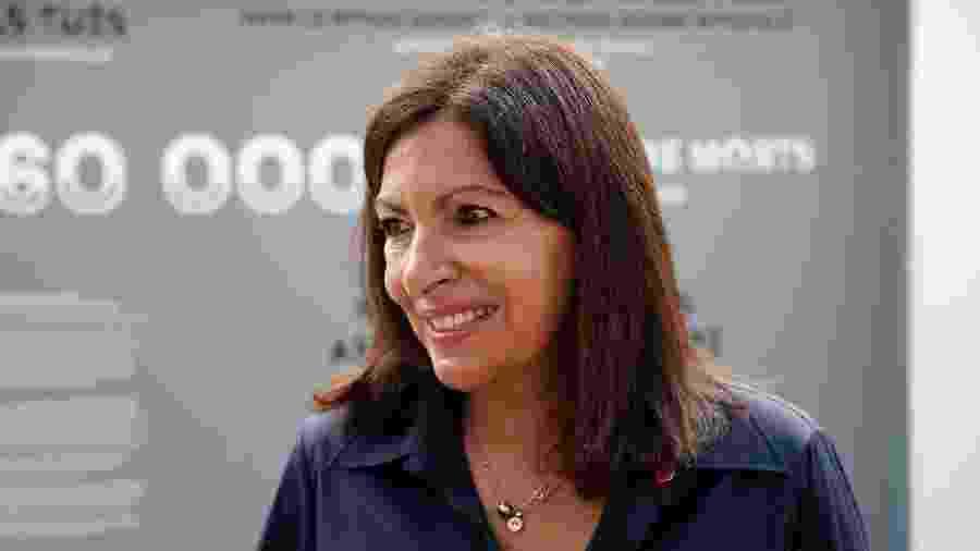 Anne Hidalgo, prefeita de Paris - Zakaria ABDELKAFI / AFP