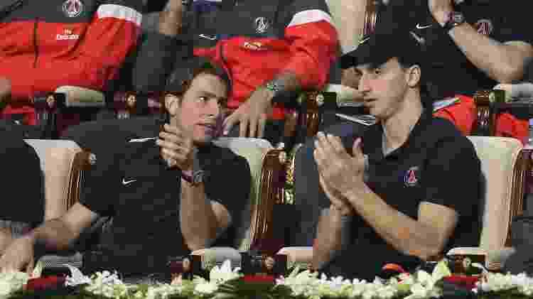 Maxwell teve boa relação com Ibrahimovic dentro e fora dos vestiários - John Berry/Getty Images