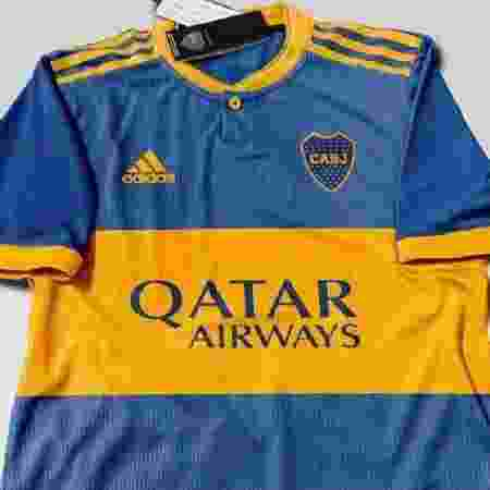 Suporta camisa do Boca Juniors para 2020 - Reprodução/Twitter