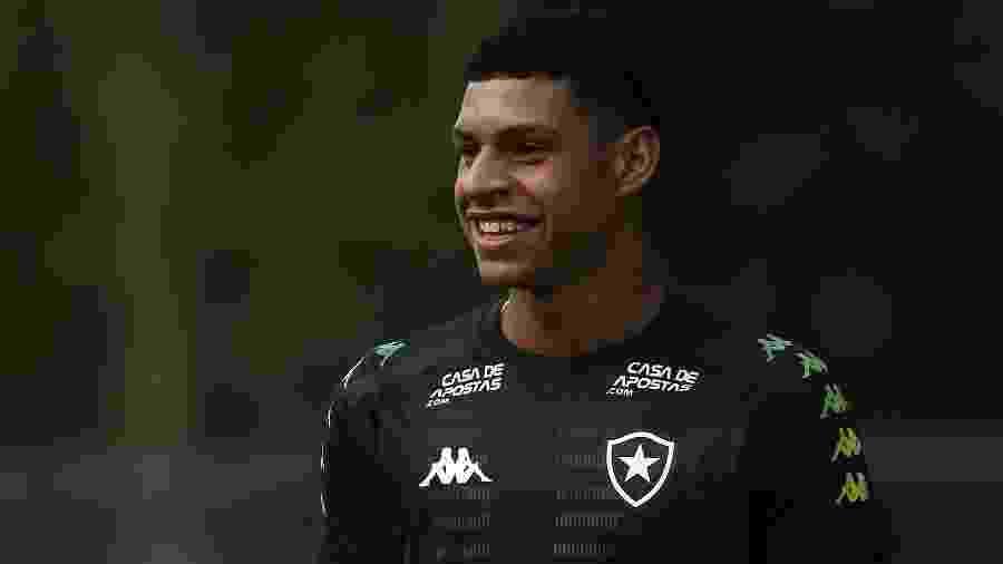 Luis Henrique tem se destacado neste começo de ano com a camisa do Botafogo - Vitor Silva/Botafogo