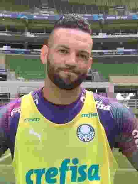 """Goleiro do Palmeiras reconhece ser """"um momento um pouco tenso"""" e aprova interrupção dos campeonatos - Reprodução/Twitter"""
