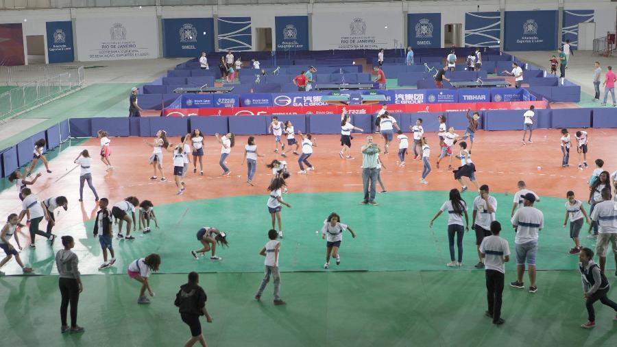 Arena Carioca 3 em sua reabertura no modo legado -  Ricardo Cassiano/Prefeitura do Rio