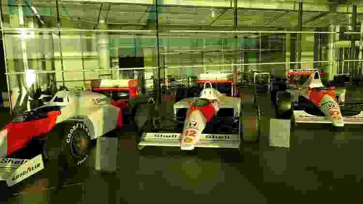 Carros antigos McLaren - Julianne Cerasoli/UOL - Julianne Cerasoli/UOL
