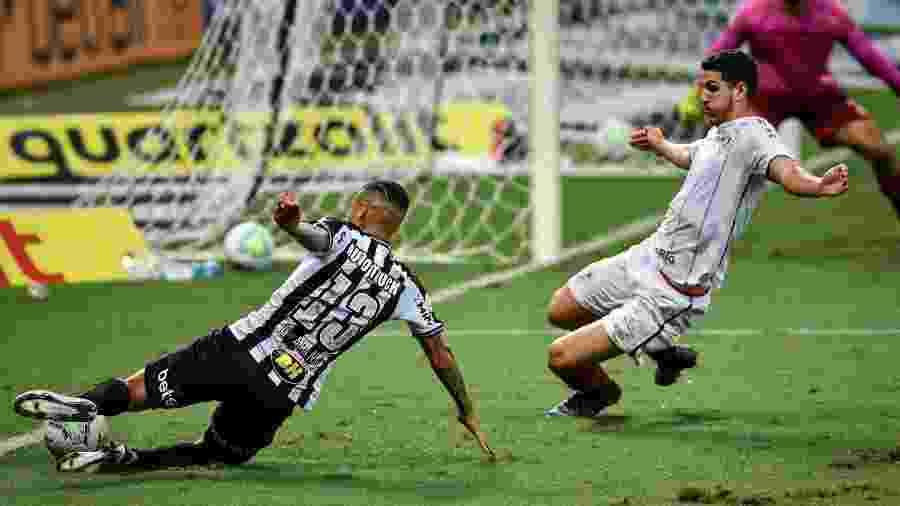 Guilherme Arana foi um dos destaques do Galo no empate com o Flu - Mineirão/Divulgação