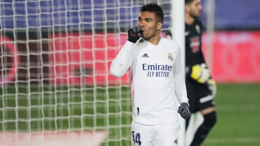 Casemiro é o vice-artilheiro do Real Madrid na temporada - David S. Bustamante/Soccrates/Getty Images