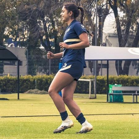 Jana Gutiérrez, jogadora de futebol do América e da seleção do México  - Reprodução