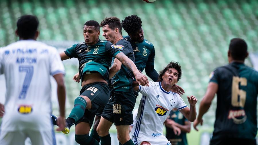 O América-MG venceu o Cruzeiro na edição do clássico pela fase de classificação do estadual, por 1 a 0 - Bruno Haddad/Cruzeiro