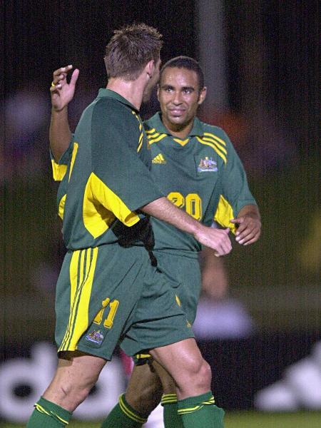 Archie Thompson, durante a vitória da Austrália sobre Samoa Americana por 31 a 0 - Darren England/Getty Images