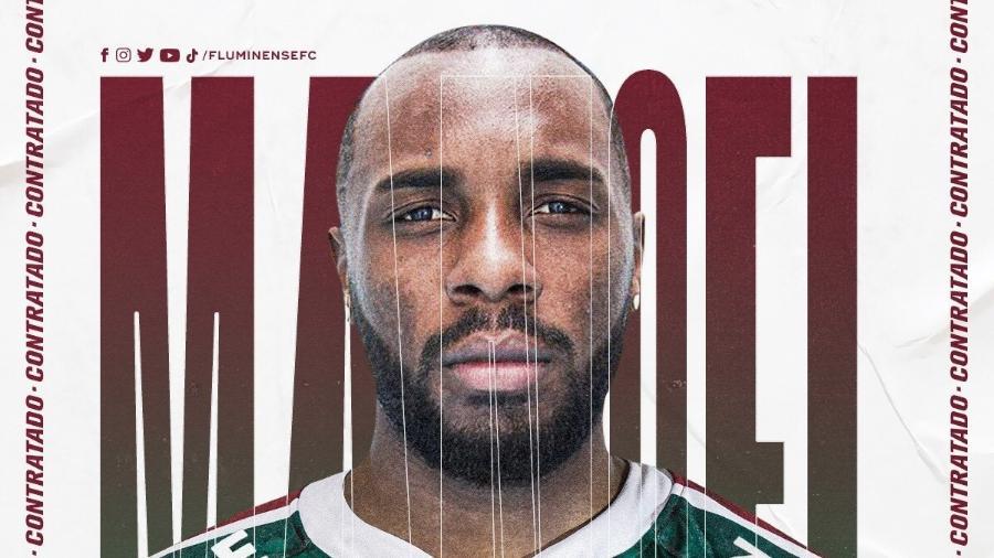Manoel foi anunciado oficialmente pelo Fluminense - Reprodução/Fluminense FC