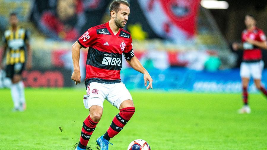 Everton Ribeiro, do Flamengo, foi um dos convocados de Tite para os jogos das eliminatórias - Marcelo Cortes/ Flamengo