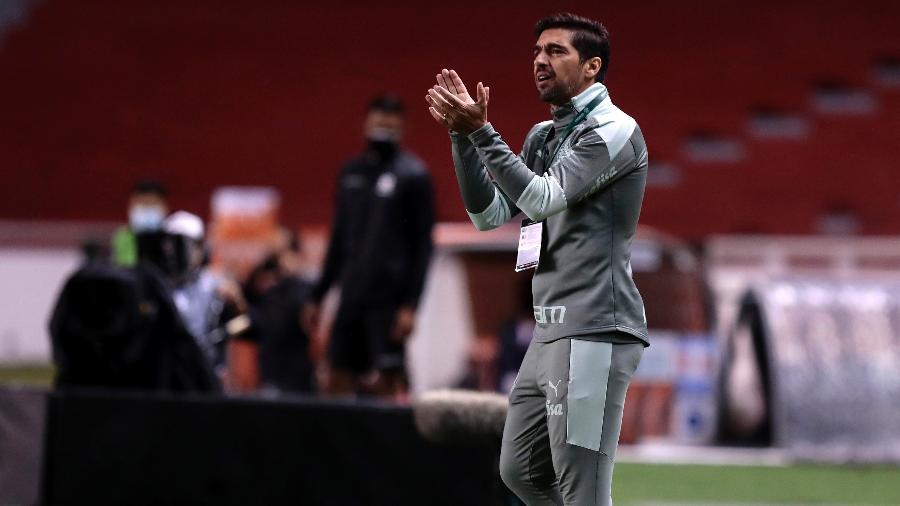 Abel Ferreira comanda o Palmeiras contra o Independiente del Valle na Libertadores - Franklin Jacome/Getty Images