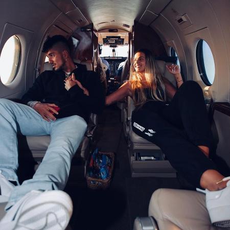 Gabriel Medina e Yasmin Brunet viajam para Las Vegas - Reprodução / Instagram