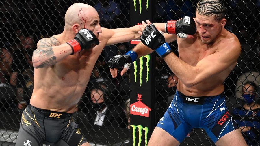 Volkanovski mantém o cinturão dos penas no UFC - Divulgação/UFC