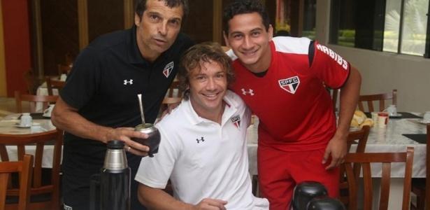 Lugano já tem frequentado o CT do São Paulo - Rubens Chiri/São Paulo FC.net