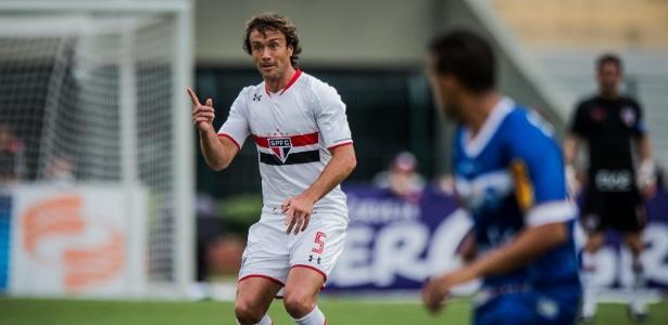Lugano ressalta que voltou ao SP para encarar decisões como essa diante do River