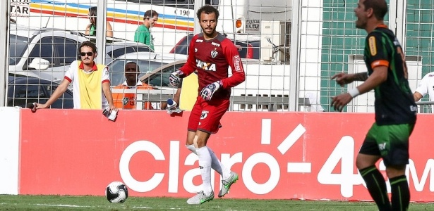 Titular do Atlético-MG nos dois últimos jogos, Giovanni quer aproveitar chance para renovar o contrato - Bruno Cantini/Clube Atlético Mineiro