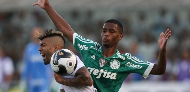 Gabriel foi o destaque da classificação do Santos para a final do Campeonato Paulista - Cesar Greco/Ag Palmeiras