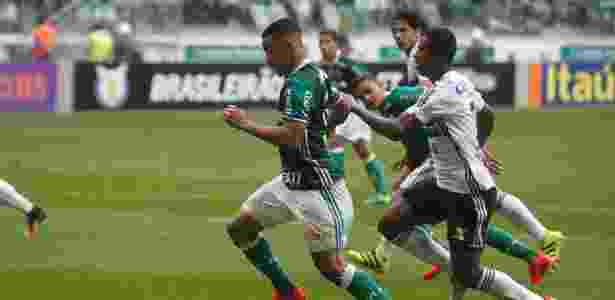 Gabriel Jesus defenderá o Palmeiras no duelo decisivo contra o Grêmio - Rubens Cavallari/Folhapress