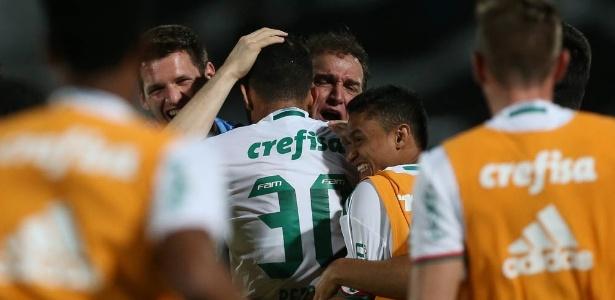 O Palmeiras tem mais de 70% de chance de levantar a taça de campeão brasileiro