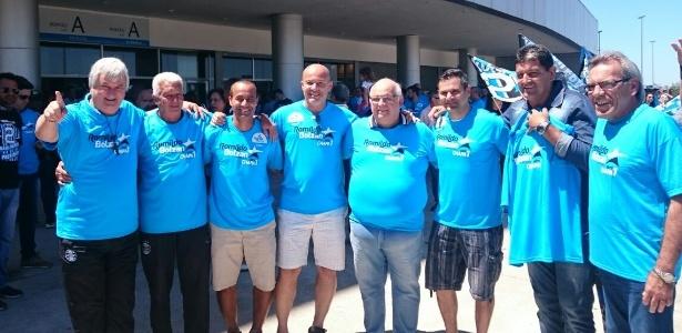 Ex-jogadores apoiam Romildo Bolzan Júnior em eleição à presidência do Grêmio