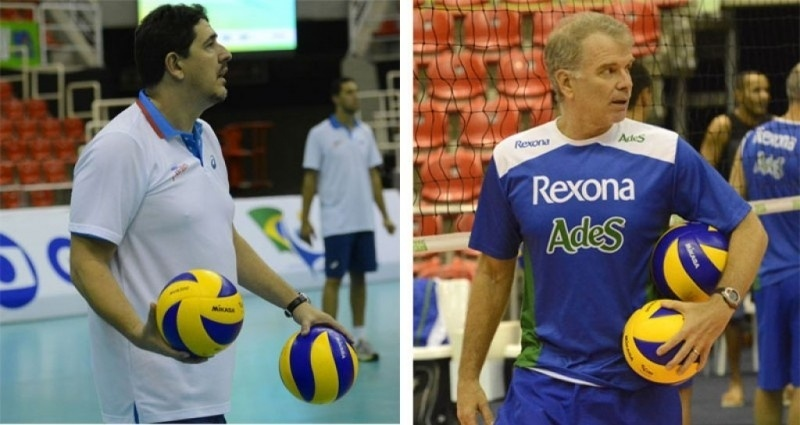 Montagem com Bernardinho e Luizomar