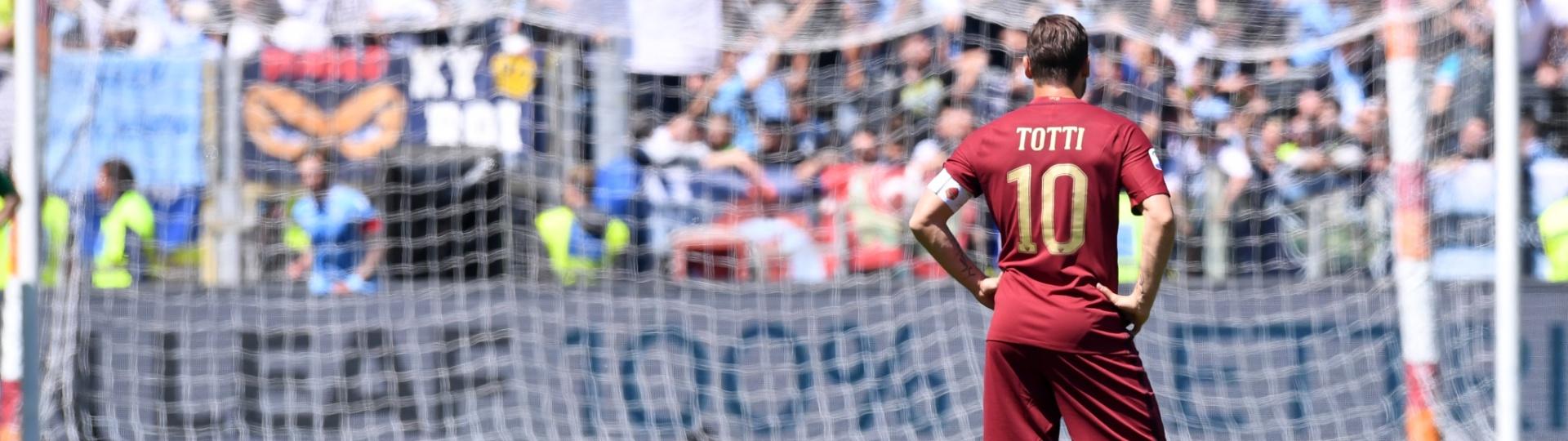 Francesco Totti vai se aposentar ao final da temporada