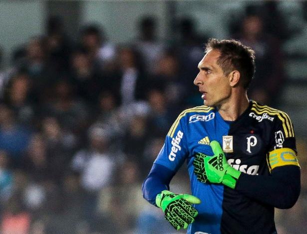 Fernando Prass vai permanecer mais um ano no clube; assinatura deve ser nesta quinta - Ale Cabral/AGIF