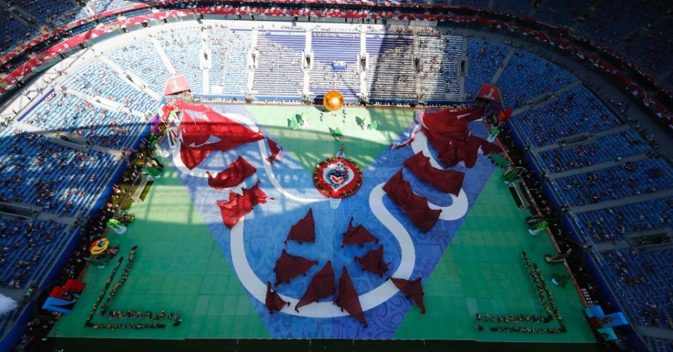 Cerimônia de abertura da Copa das Confederações contou com baixo público no estádio