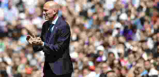 Zidane não quis justificar as vaias ao galês -  AFP PHOTO / PIERRE-PHILIPPE MARCOU