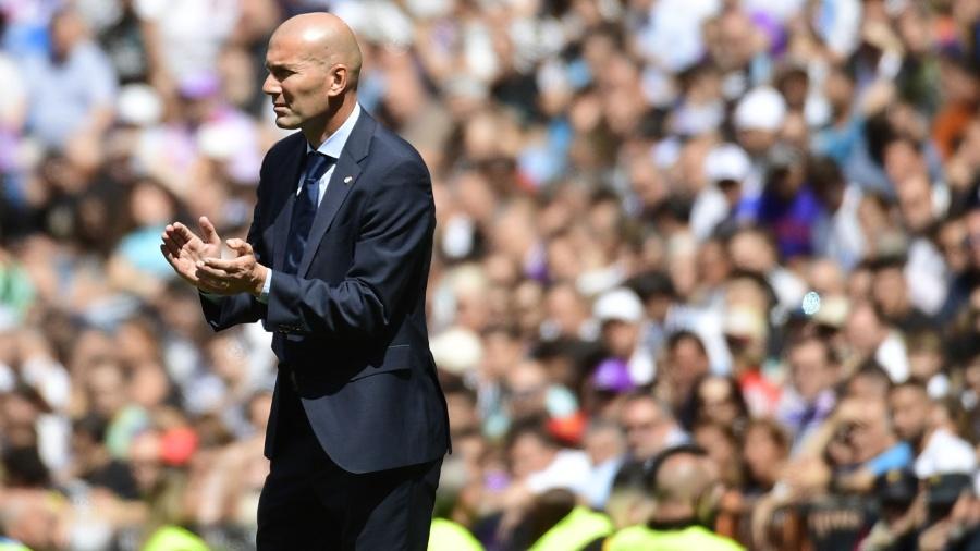 Zidane não quis justificar as vaias ao galês -  AFP PHOTO / PIERRE-PHILIPPE MARCOU