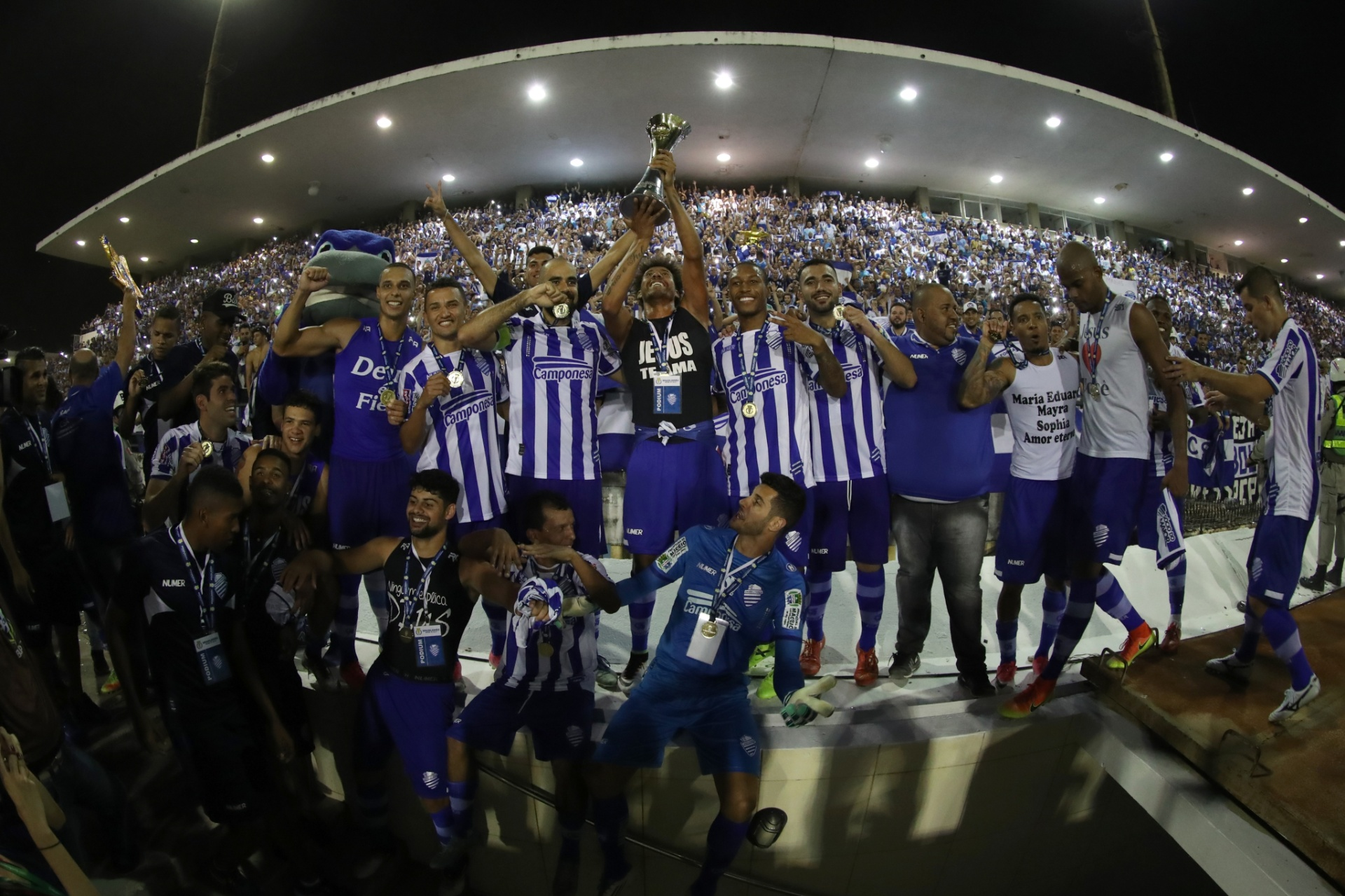 b0e91d5a7 CSA fica no 0 a 0 com Fortaleza e é campeão da Série C pelo placar agregado  - 21 10 2017 - UOL Esporte