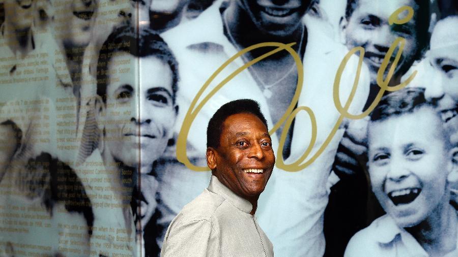 Pelé, Edson Arantes do Nascimento - Ricardo Saibun/Santos FC