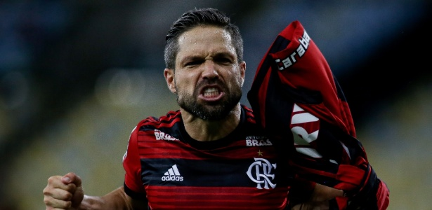 O meia Diego está de volta ao time do Flamengo na partida contra o Grêmio - Luciano Belford/AGIF