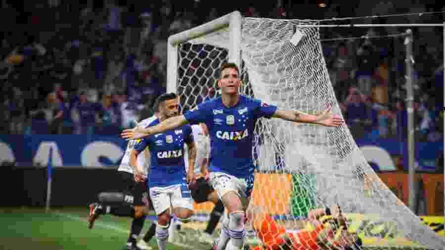 Thiago tem histórico de ser decisivo no Cruzeiro, mas anda convivendo com críticas da torcida no clube celeste - Vinnicius Silva/Cruzeiro