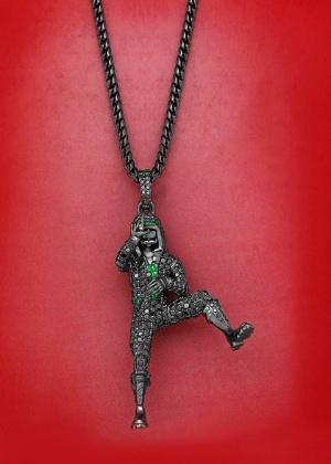 Griezmann compra pingente de diamantes com celebração do Fortnite